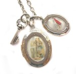 Alice Charm necklace